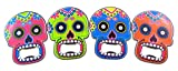 Day of the Dead Bottle Opener Mexican Party Accessory, Set of 4 For Sale