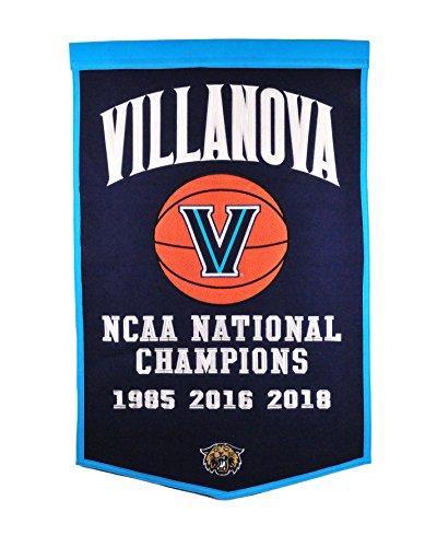 Ncaa National Championship Banner - Winning Streak NCAA Villanova Wildcats 2018 NCAA Championship Dynasty Banner