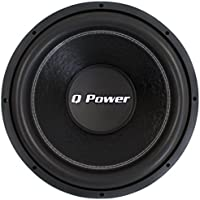 Q-POWER QPF15 15 2200W Deluxe Series Dual Voice Coil Car Audio Power Subwoofer
