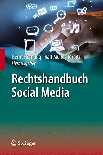 Rechtshandbuch Social Media (German Edition) by Springer