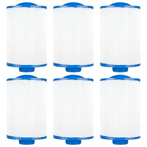 Clear Choice CCP108 Pool Spa Replacement Cartridge Filter for Vita Spa, Saratoga Spa, Pageant Spa 19 Filter Media, 4-5/8