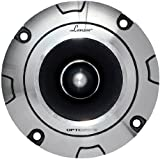 "Lanzar Upgraded Optidrive Heavy Duty Aluminum Bullet Super Tweeter - Powerful 200 Watt Peak 2.5k - 20kHz Frequency Response and 4 Ohm w/ 100dB (1w/1m) Sensitivity and 1.5"" Kapton Voice Coil - OPTIBT25"