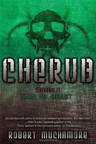Man Beast CHERUB Robert Muchamore product image