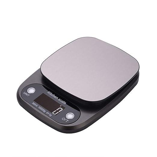 Balanza De Cocina Digital 10Kg/1G Escala De Alimentos Multifunción Joyería Peso Balanza Electrónica Cocción Cocina Escala Con Pantalla LCD: Amazon.es: Salud ...