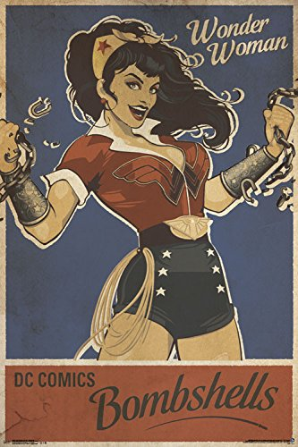 Woman Collectors (Trends International Wonder Woman Bombshell Collector's Edition Wall Poster 24