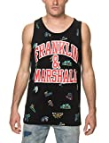Franklin & Marshall Men's Men's Sleeveless Black T-Shirt in Size XL Black