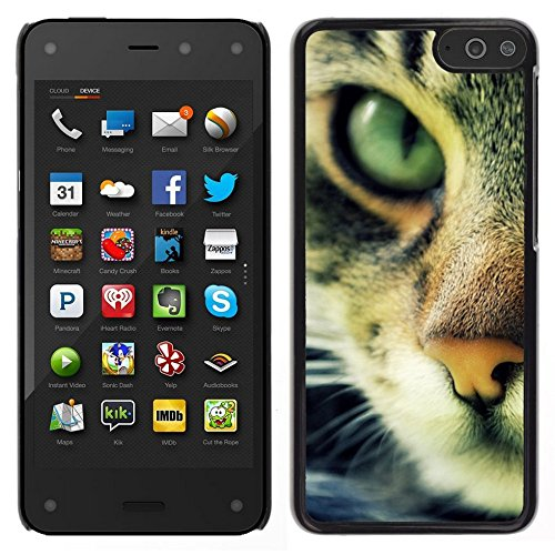 Smartphone Hard PC Case Protective Cover for Amazon Fire Phone / Phone Case TECELL Store / Chausie Ocicat Cat Serengeti Bengal