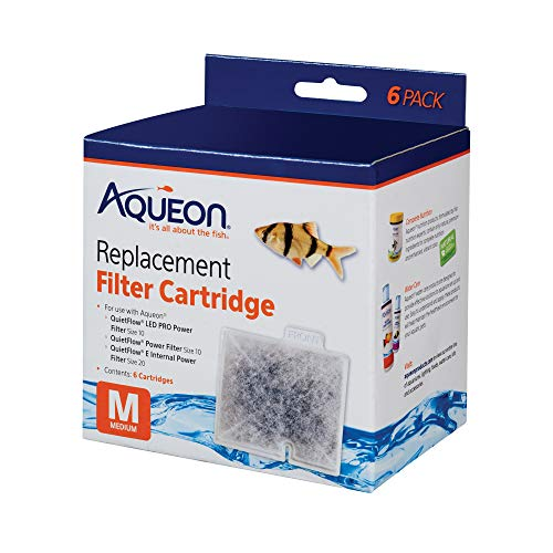 - Aqueon Replacement Filter Cartridges Medium (6 Pack)