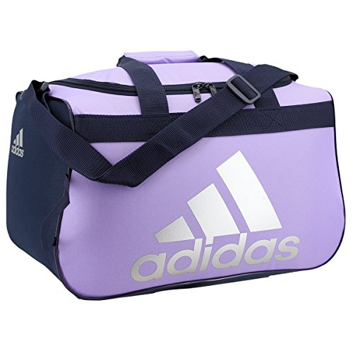 adidas Diablo Duffel Bag, One Size, Light Flash Purple/Collegiate Navy/Silver