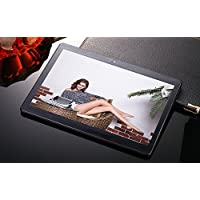 elegantstunning Tablet PC 10.1'' IPS High-Definition Screen Android Quad Core 4+64GB HD WiFi 3G Phablet