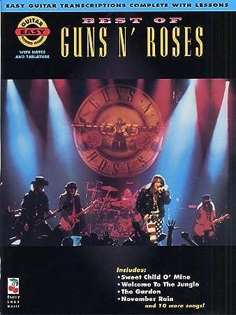 Best Of Guns N\' Roses (Easy Guitar Recorded Versions). Sheet Music ...