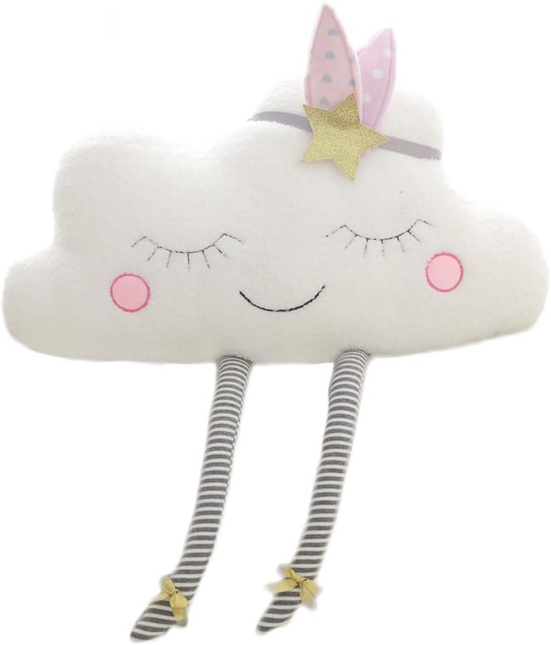 Nooer Plush Soft Cute Cloud Pillow 16 Inch …