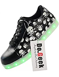 LED Shoes,LED Light Up Shoes Female/Women With 7 Colors