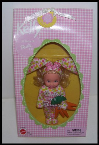 Blonde Easter Cute As a Bunny Kelly Barbie Doll