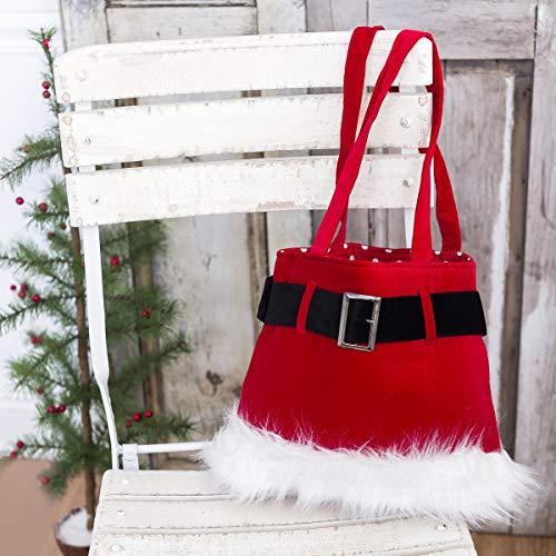 Red Velvet Santa Purse