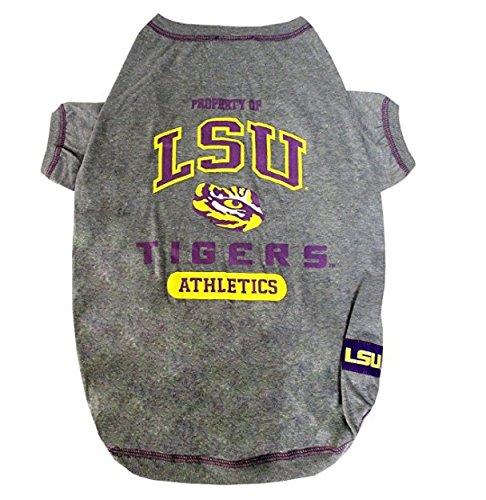 NCAA Louisiana State University Pet T-Shirt, X-Small