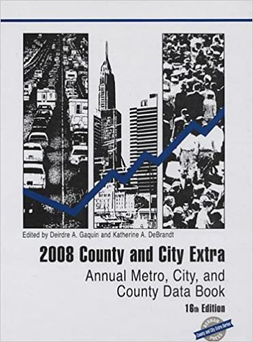 Manuels en ligne à télécharger County and City Extra 2008: Annual Metro, City and County Data Book (County & City Extra: Annual Metro, City & County Data Book) PDF DJVU