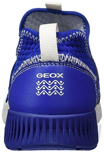 Geox Sveth a, Zapatillas Para Niños Azul (Royal)