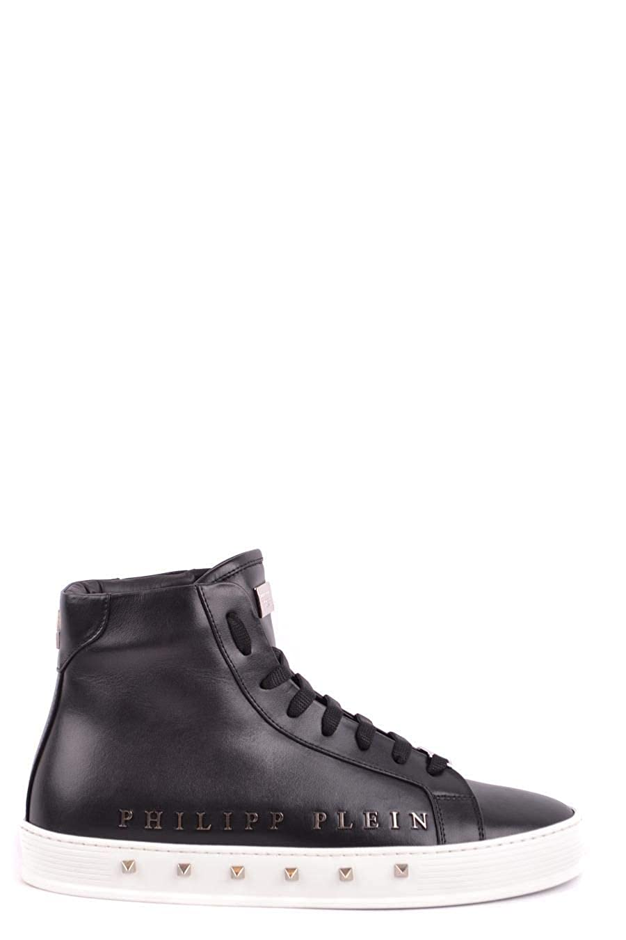 - Philipp Plein Hombre MSC1245PLE075N0291 negro Cuero zapatos