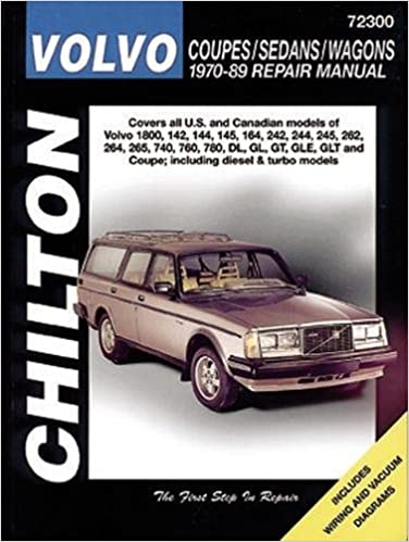 Volvo Coupes, Sedans, and Wagons, 1970-89 Chilton total car care: Amazon.es: Haynes: Libros en idiomas extranjeros
