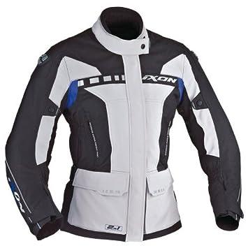 Ixon - Chaqueta Moto - Ixon Corsica Lady Gris/Negro/Azul ...
