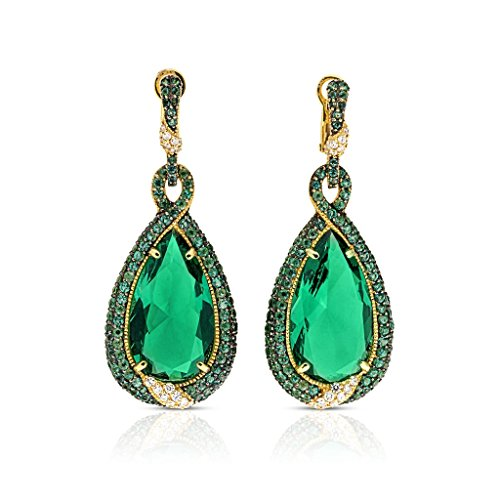 JUDITH RIPKA LTD Portofino Green Quartz Earrings With - Judith Ring 18k Ripka