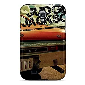 EricHowe Samsung Galaxy S4 Durable Hard Phone Cases Customized Colorful The Beatles Pattern [jOx12825IPQH]