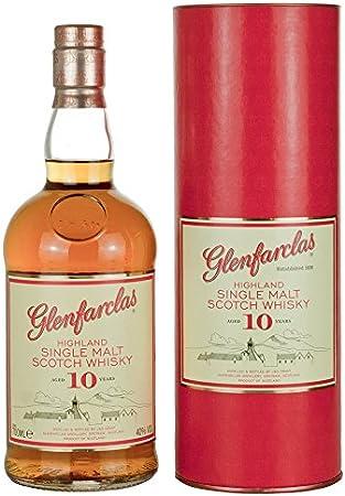 GLENFARCLAS 10 AÑOS, 700 ml