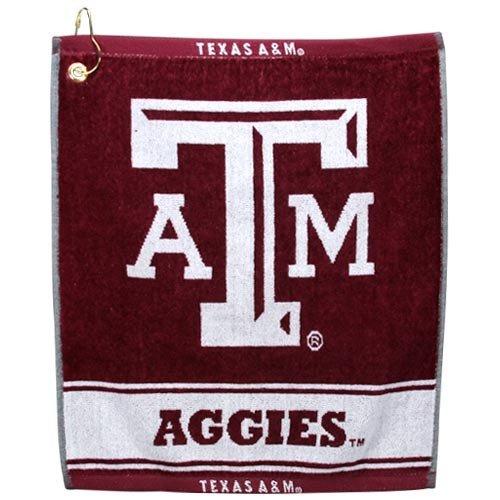 NCAA Texas A&M Aggies Woven Jacquard Golf - Woven Ncaa Jacquard Towel