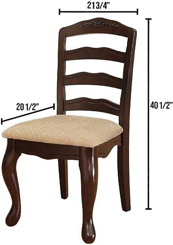 Venetian Worldwide Townsville I 2-Piece Dining Chairs Set