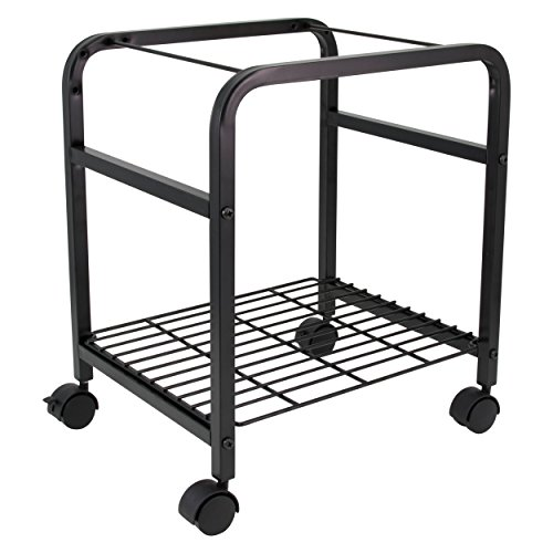 File Portable Companion Advantus - Advantus Heavy Duty File Shuttle Cart, 20 x 17.4 x 14.4 Inches, Steel, Black (FS-2BHD)