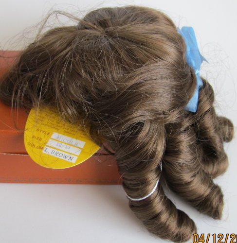 KEMPER Craft DOLL HAIR WIG Style NICOLE Fits SIZE 12