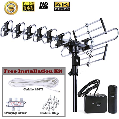The Best Outdoor Antenna 200 Mile Range