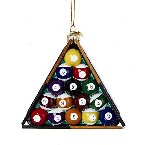 Billiard Ball Ornament (Kurt Adler 4
