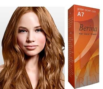 Amazon Com Berina Hair Professional Permanent Hair Color Cream A