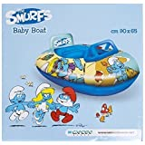 Lively Moments Aufblasbares Boot Die Schlümpfe / Schlumpf / smurf ca. 90 x 65 cm