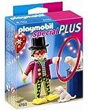 Playmobil - 4760 - Jeu de Construction - Clown Dresseur de Chiens