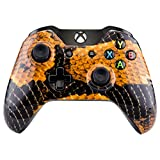 Cheap Extremerate Hydro Dipped Gold Dragon Scales Front Up Top Shell For Xbox One Controller