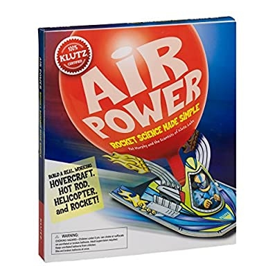 Klutz Air Power: Rocket Science Made Simple Craft Kit: Murphy, Pat: Toys & Games