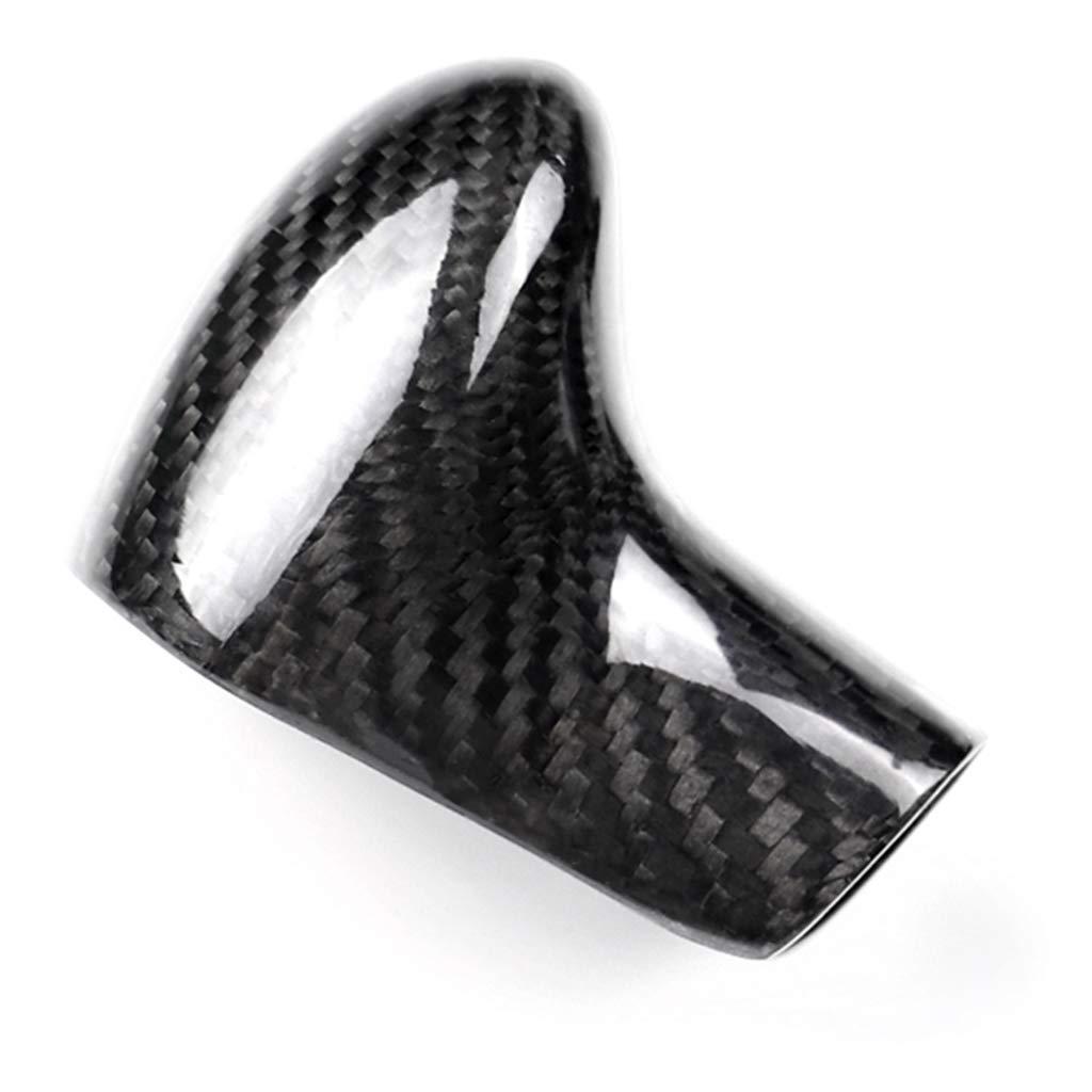 KESOTO 1 Piece Carbon Fiber Gear Shift Knob Decals for Audi A7 2009-2014