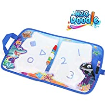 H2o Doodle-Kids Travel Accessories –Road Trip Activities for Kids – Toddler Doodle Mat– Buckle Joy Water Drawing Board –Aquadoodle Mat for Mess-Free Coloring – Educational Drawing Pad for Boys & Girls