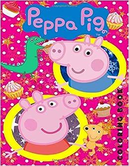 Book coloring peppa pig