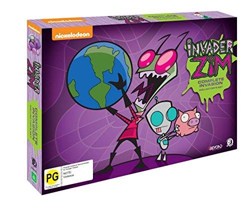 Invader Zim: Complete Invasion Collectors Box Set (6DVD) (Best Invader Zim Episodes)