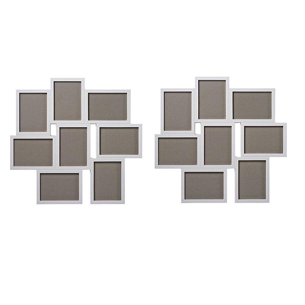 Amazon.com: IKEA Collage marco para 8 fotos, negro, 5 x 7 ...