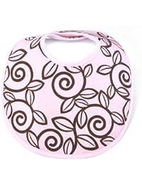 Infant Bib, Trellis Pink