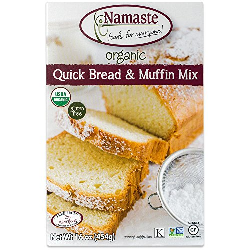 Namaste Foods Organic Quick Bread & Muffin Mix, 16 Ounce ()