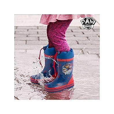 bd97cebcdec04 Bottes de Pluie Bleues La Pat  Patrouille - 31  Amazon.fr  Chaussures et  Sacs