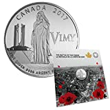 2017 Canada The Battle of Vimy Ridge Silver Coin