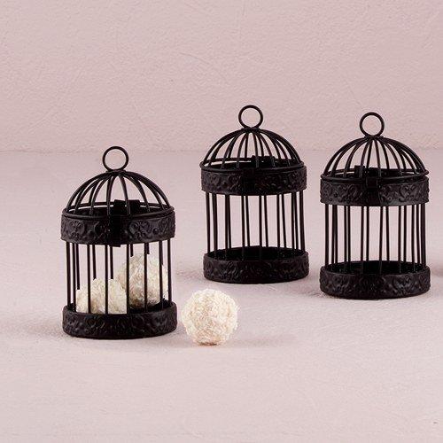 Miniature Classic Round Decorative Birdcages W9119 Quantity of 4