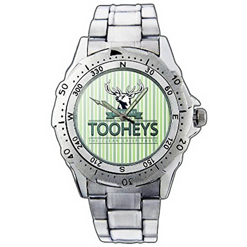 mens-wristwatches-pe01-1299-tooheys-extra-dry-1869-beer-stainless-steel-wrist-watch